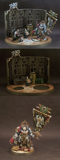 Raven Guard Diorama