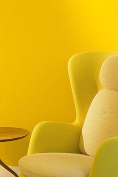 Yellow | Giallo | Jaune | Amarillo | Gul | Geel | Amarelo | イエロー | Colour | Texture | Style | Form | Yellow Interior | Dupond-Smith