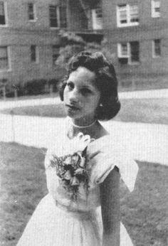 Barbra Streisand age 12, Brooklyn I have seen this photo over the years and I love the fact that she just got better with age and stayed true to self