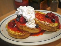 You can't say no to Berry Berry Brioche French Toast!