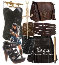 Xena ~ Warrior Princess inspired outfit. I would wear it ALL the time!