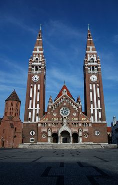 Szeged Cathedral, Hungary
