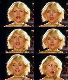 "Blondie: Debbie Harry on the ""Heart of Glass"" videoclip, recorded at Studio 54, NYC 1979"