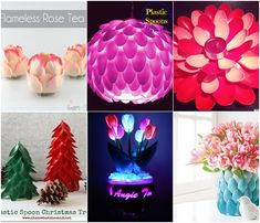 15 DIY Plastic Spoon Decoration Ideas