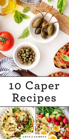 If you're not already cooking with capers, now's the time to start! These pickled flower buds will give any dish a burst of tangy, salty, briny flavor. Learn more about capers, and find my best capers recipes. | Love and Lemons #capers #recipes #vegetarian