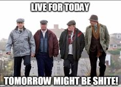 Still Game: A Scot-Com - which I love. Sometimes I don't understand the Glaswegian, but no worries - still so hilarious! Still Game Memes, British Comedy, Badass Quotes, Me Tv, Adult Humor, Comedians, Movies And Tv Shows, I Movie, Hilarious