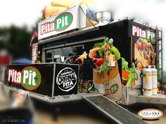 Pita Pit, Calorie Calculator, Healthy Food, Healthy Recipes, Greek Chicken, Crepes, Catering, Street, Health Foods