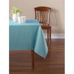 Mainstay Blue Topaz Tablecloth - Walmart.com