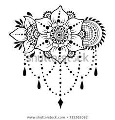 Henna tattoo flower template Mehndi style Set of… Henna Tattoo Blumenvorlage Mehndi-Stil Reihe von ornamentalen Mustern im orientalischen Stil The post Henna Tattoo Blumenvorlage Mehndi-Stil Set von … appeared first on Frisuren Tips - Tattoos And Body Art Henna Tatoo, Henna Tattoo Designs, Henna Mehndi, Henna Art, Henna Designs Drawing, Henna Designs On Paper, Designs Mehndi, Arabic Henna, Estilo Mehndi