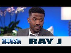 Ray J Talks About Police & Princess with Steve Harvey