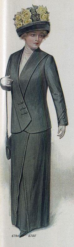 Ladies Home Journal (April, 1912) - shoulder bag?