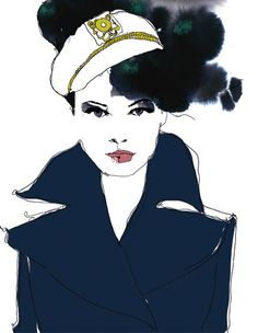 sailor illustration.