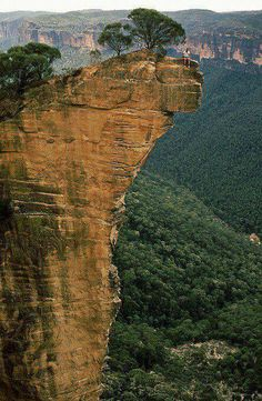 # HANGING ROCK, THE BLUE MOUNTAINS NEW SOUTH WALES