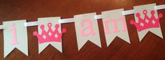 Items similar to Paper Garland DIY Kit,Pink and Gold, Little Girls 1st Birthday, Princess Party, Wedding Garland, Party decor, Scrapbooking on Etsy