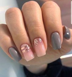 #nails Cute Acrylic Nails, Acrylic Nail Designs, Cute Nails, Cute Short Nails, Short Nails Acrylic, Perfect Nails, Gorgeous Nails, Dream Nails, Nagel Gel