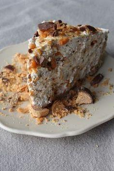 Perfect Peanut Butter Butterfinger Pie