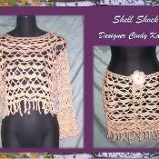 Shell Shock Skirt & Top Pattern - via @Craftsy