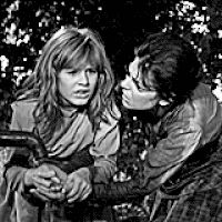 """Patty Duke and Anne Bancroft in director Arthur Penn's """"The Miracle Worker"""" (gif)."""