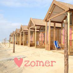 Katwijk aan Zee strandhuisje