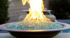 Outdoor Fabulous: Floating Fire Bowls