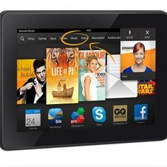 Kindle Fire HDX 7″, HDX Display, Wi-Fi, 16 GB – Includes Special Offers