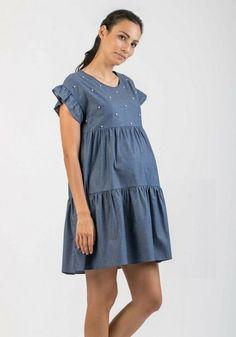56a4a8a72ac6a7 53 meilleures images du tableau Tendance Denim Maternité en 2018