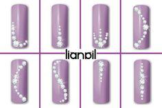 35 Trendy Nails Design With Rhinestones Bling Swarovski Crystals<br> Nail Crystal Designs, Gem Nail Designs, Diamond Nail Designs, Diamond Nails, Bling Nail Art, Bling Nails, Gel Nail Art, Nail Art Diy, Bling Bling