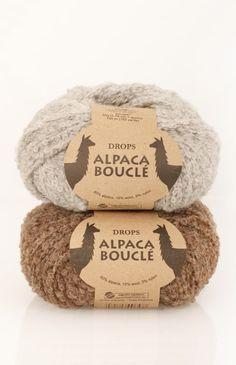DROPS Alpaca Bouclé Yarn Group C Soft Alpaca. Raw Supplies for Knitting and Crochet. Light and Fluffy Garments. Drops Alpaca Bouclé Yarn Group: C Content: Alpaca, Wool, Polyamide Yarn Group: C - 19 stitches) / 10 ply / aran / worsted Weight/yardage: oz Crochet Yarn, Knitting Yarn, Hand Knitting, Crochet Shoes, Alpacas, Hand Knitted Sweaters, Knitted Poncho, Drops Design, Yarns