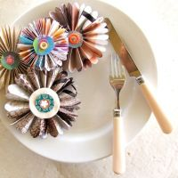 Paper : : Pleated Flowers   from Hell to Breakfast
