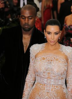 Kim Kardashian West & Kanye West (Courtesy: Image Collect)