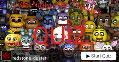 How much do you know Five Nights At Freddy's? #Entertainment #FNAF #quiz