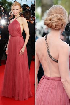 I love Nicole Kidman and this Lanvin dress is stunning on her! The soft red, the embellishment... ahhh