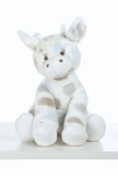 Lil G Plush Giraffe Toy by Little Giraffe- Available in blue and pink at As We Grow