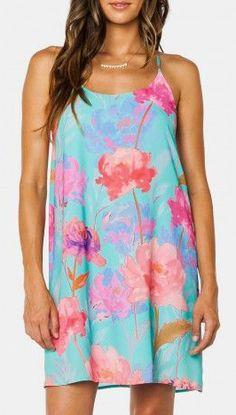 Kasandra Rose Strap Dress in Mint Fashion Now 84f79ecfc