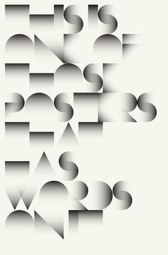 Cool geometric poster design found on iindex.tumblr.com. Circles, squares, ovals, triangles—do you organize your favorite geometric typefaces? Keep your font collection in check with Suitcase Fusion. Try it free for 30 days. http://www.extensis.com/font-management/suitcase-fusion/