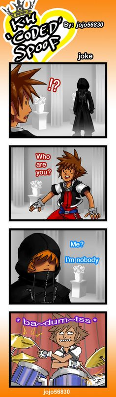 KH reCoded Spoof: joke by jojo56830.deviantart.com on @DeviantArt
