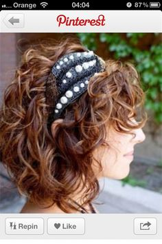 Curly hair - think I might go dark again. Mmm