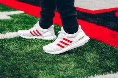 509ddd143 Adidas Ultra Boost 4.0 - Cloud White   Active Red   Chalk White Adidas  Gazelle