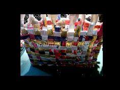 ▶ Tutorial: borsa buste di caffè ♥ - YouTube
