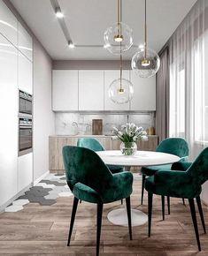 best modern interior for your kitchen - Wohn esszimmer - Design Dining Room Design, Modern Interior Design, Interior Design Living Room, Modern Interiors, Contemporary Interior, Luxury Interior, Interior Ideas, Küchen Design, House Design