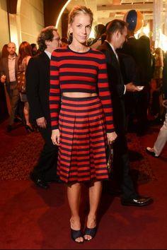 Fashion Month Inspiration: Stripes on Stripes like Meredith Melling Burke
