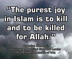 Islam is violent. #atheist #atheism All religions are violent.  It's ridiculous.