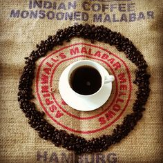 Pure organic coffee!  #pure #organic #coffee #black #white #passion #coffeeroaster #coffeebeans #photo #kaffee #kaffeebohnen #foto