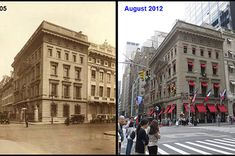 We look at photos of 10 New York City street corners and show that in the big city, some things change and some things stay the same. Check out the first round here.