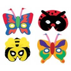 Foam Masks Insect. #Halloween #Kids
