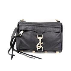 Basicbag Women Street Mini Cross Body Bag Black