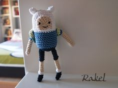 Finn (Adventure Time) amigurumi