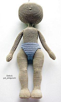 Куклы крючком амигуруми, мастер-классы