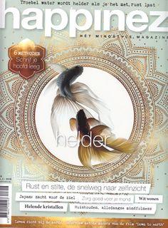 Cover magazine Happinez tonen