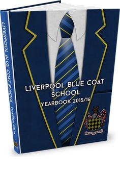 Another take on a school uniform yearbook design :) Yearbook Covers, Yearbook Design, Cover Design, School Uniform, Posters, Ideas, School Uniform Outfits, School Uniforms, Poster